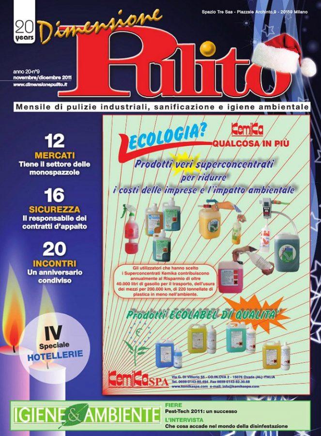 dimensione pulito novembre 2011