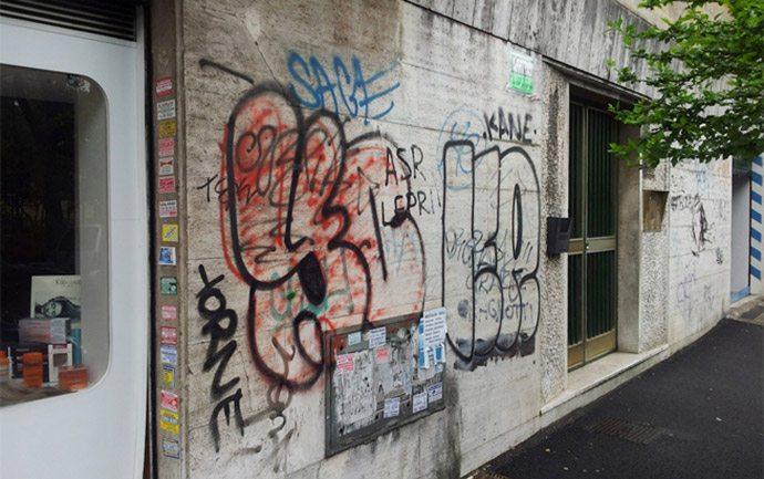 graffiti minuti contati