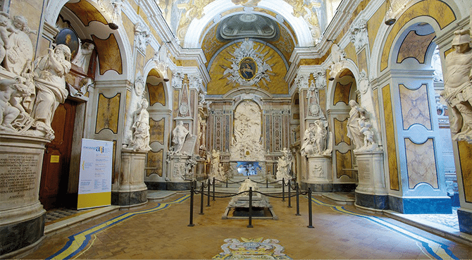 Cappella S. Severo interno
