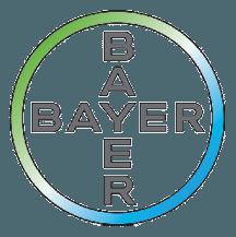 2. Bayer Logo Cross Print 4c