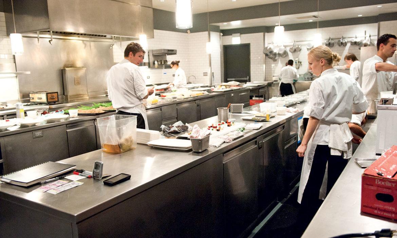 Programma Di Pulizia In Una Cucina Professionale Dimensione Pulito